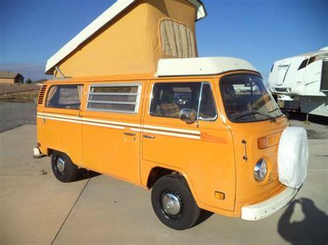 find used 1977 vw bus westfalia vanagon rust free air conditioning cer in pueblo colorado