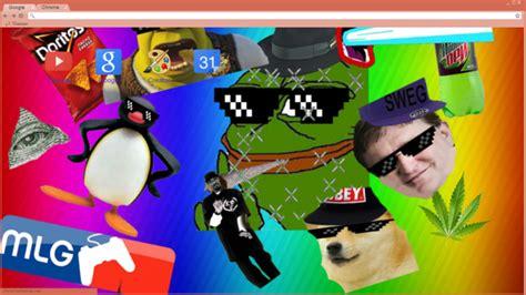 google themes mlg mlg pepe the frog chrome theme themebeta