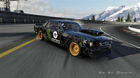 hoonigan drift cars forza 6 mustang 65 hoonigan drift