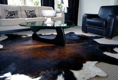 Cowhide Rug In Living Room Cowhides Rugs Cow Hide Rug