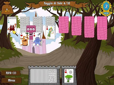 carte da tavolo solitari 2 solitaire gioco screenshot