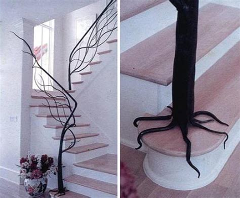 tree branch banister 30 gorgeous twig decorations for your home freshome com