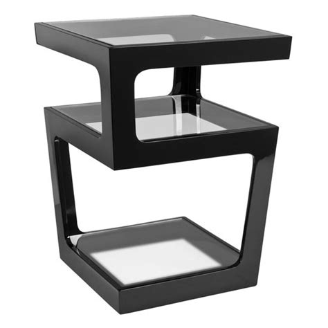living room modern side tables for living room living triple level side table black from dwell best side