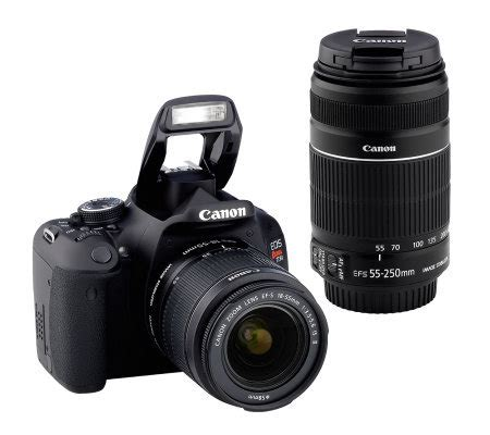 canon eos rebel t3i dslr canon eos rebel t3i 18mp dslr deluxe kit with 18 55mm 55