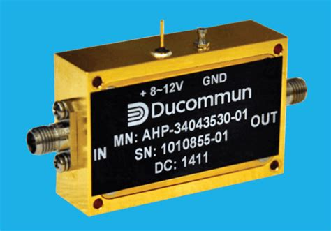 monolithic microwave integrated circuit power lifiers ducommun gaas mmic power lifiers