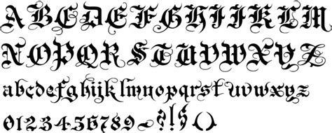 gothic tattoo alphabet brilliant script tattoo fonts inkdoneright