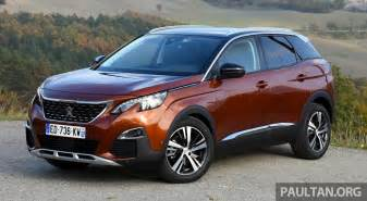 2nd Peugeot Peugeot 3008 2nd To Debut In Malaysia Q2 2017 Image