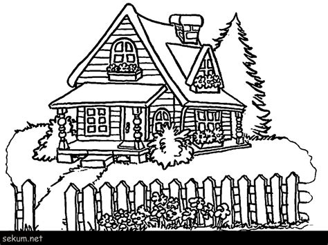 A House Coloring Page by House Coloring Pages For Adults New House Coloring Pages