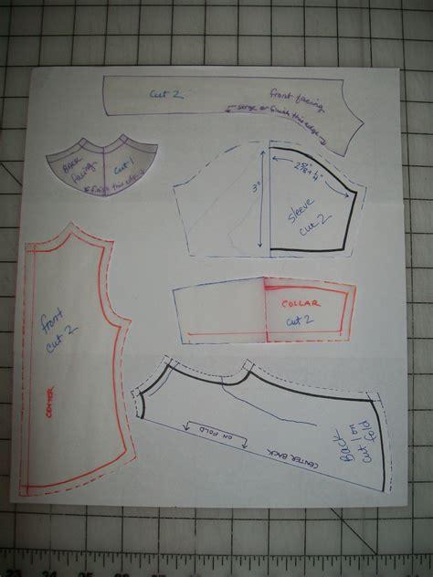shirt pattern making video making a shirt pattern for a tonner matt missy s imaginings