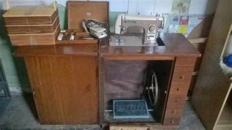 brother sewing machine cabinet brother sewing machine with original cabinet and extras