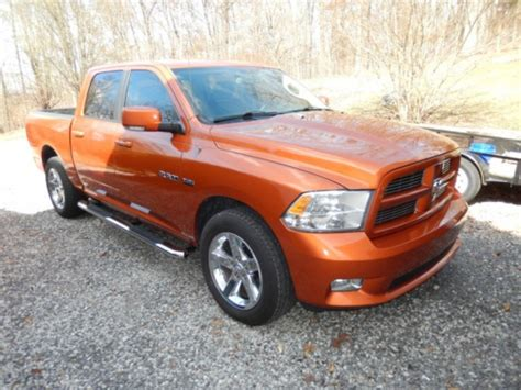 2010 dodge ram 1500 sport orange ram 1500 for sale used cars on buysellsearch