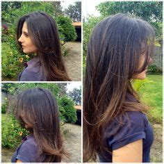 imagenes de cortes de pelo en capas peinados on pinterest half up half down curls and