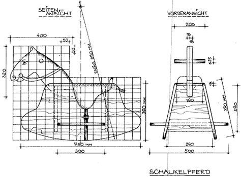 Bauplan Schaukelpferd Kostenlos 6466 selber machen bauanleitung f 252 r ein schaukelpferd