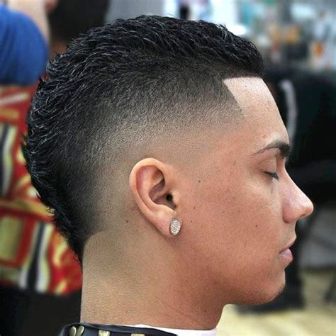 drop back dark fade 31 haircuts girls wish guys would get drop fade mohawks