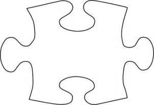 Autism Puzzle Template by Gallery For Free Clip Of Puzzle Pieces Image 20078