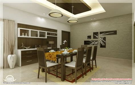 interior decoration of dining kitchen and dining interiors kerala home design and