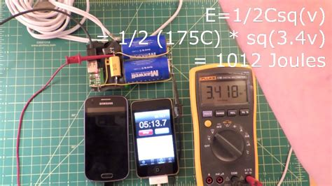 diy cell phone capacitor instant cell phone charger