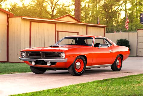 plymouth and 1970 plymouth hemi cuda with just 81 original