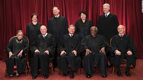 members supreme court supreme court justices sit for class photo cnnpolitics