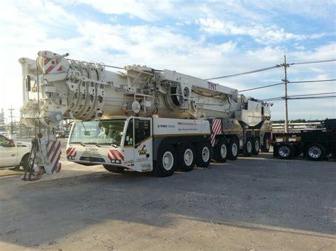 Crane 12 12 Big Sale Bundling B terex demag ac 500 tnt cranes and booms