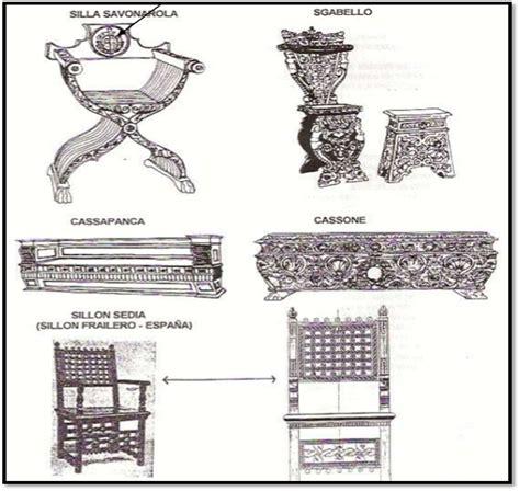 muebles renacentistas estilo renacentista historia del mueble