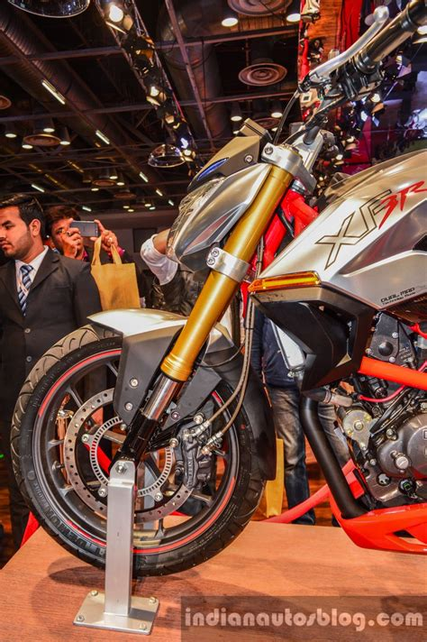 Ktm At Auto Expo 2016 by Xf3r Concept Usd Fork At Auto Expo 2016