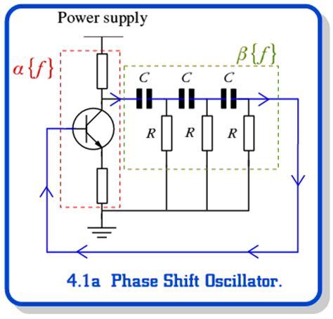 types of shift resistors oscillators feedback oscillators page 1