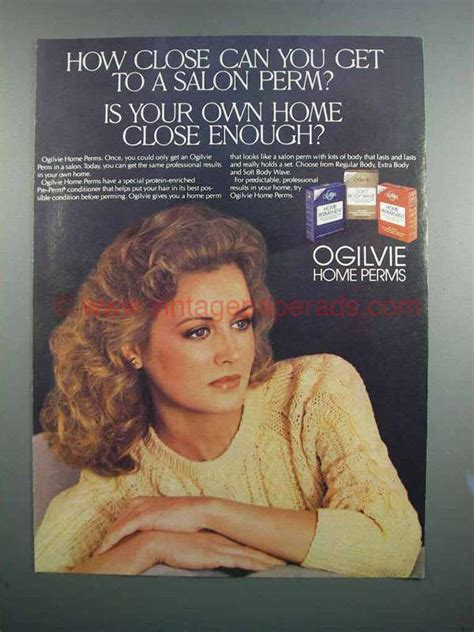 1983 ogilvie home perms ad how can you get