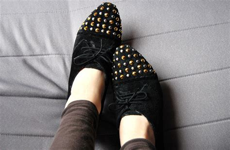 diy studs on shoes studded shoes remake rags to couture