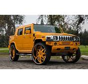 Tuningcars Hummer H2 On 34 Inch Forgiato Wheels