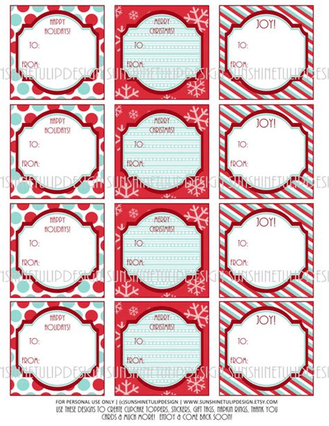 S Secret Torso Tag Label printable diy gift tags stickers and labels by sunshinetulipdesign labels