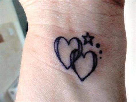 heart tattoo on side of wrist hearts on wrist tattoos