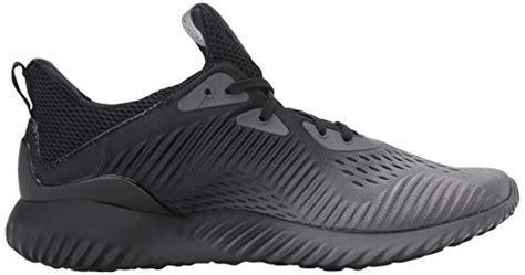 Sale Adidas Alphabounce Em M Running Shoe Black Bb9043 U adidas performance s alphabounce em m running shoe black grey four white 7 5 medium us