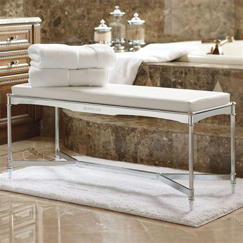 vanity bench for bathroom belmont vanity bench traditional shower benches seats
