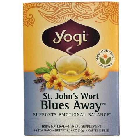 St Johns Wort Detox by Evitamins Yogi Tea Organic Teas St S Wort Blues