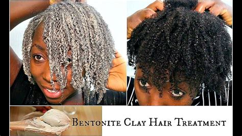 How To Detox Your Hair With Bentonite Clay by Bentonite Clay Hair Mask Wash Day Apple Cider