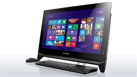 Lenovo All In One เล อกซ อ all in one pc ในงาน commart comtech 2013