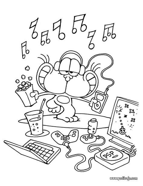 imagenes para pintar musica dibujos del gato gaturro para imprimir y colorear