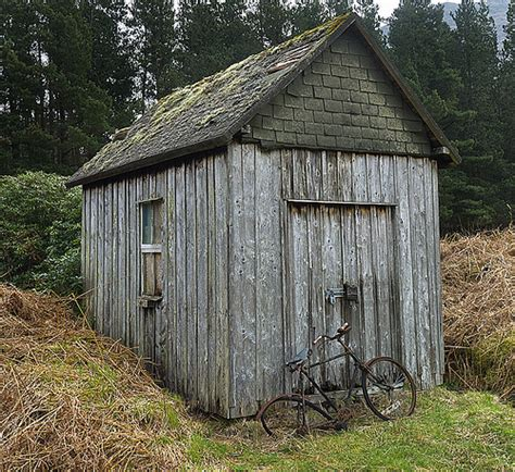 shed bicycle glen etive flickr photo
