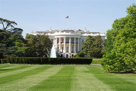 white house photographer rear lawn of the white house travel wallpaper and stock photo