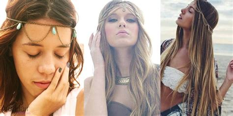 10 best chic and creative boho hairstyles - Boho Hairstyles Accessories