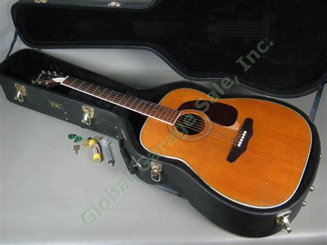 ebay reserve price vintage harmony h1260 h 1260 dreadnought jumbo acoustic