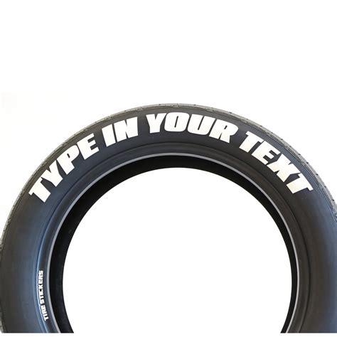 create   racing tire stickers  glue  gloves custom closup tire stickers