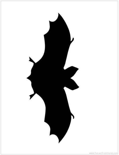 halloween silhouette templates dont pinch my wallet