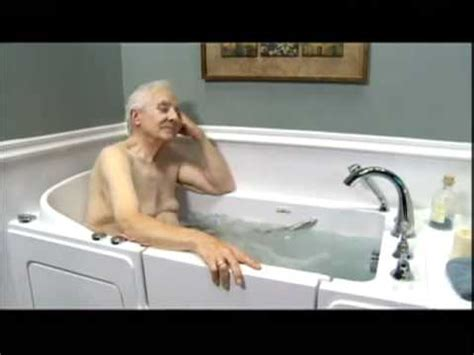 bathtub elderly walk in tubs for seniors who s the best youtube
