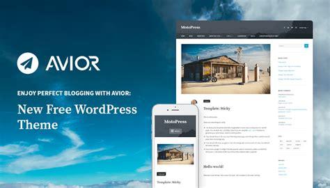 blogger themes adapted from wordpress meet avior charismatic free wordpress blogging theme