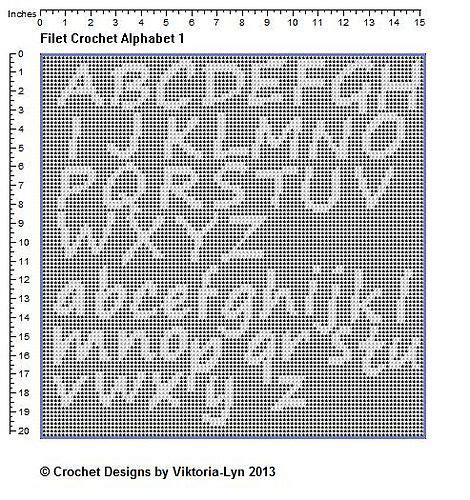 filet crochet name pattern generator 59 best filet crochet alphabet images on pinterest cross