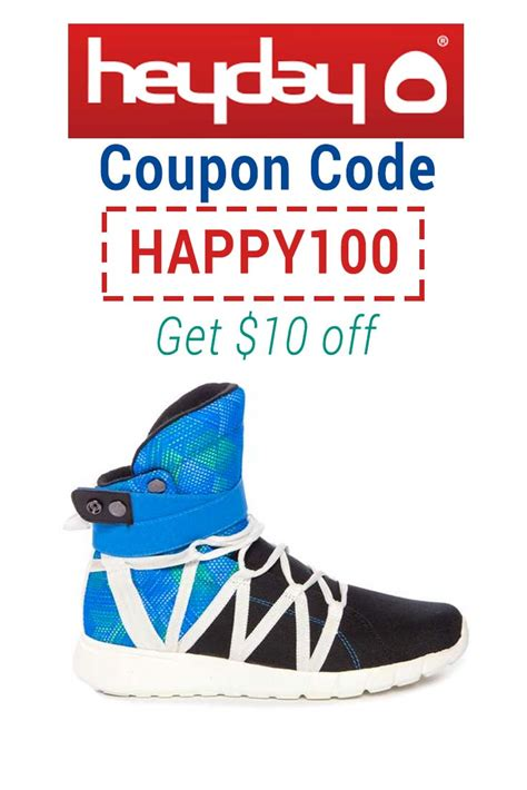 shoes coupon heyday shoes coupon code use happy100 for 10