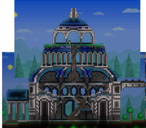 how to build a house in terraria eldoro terraria part of the swan building i think