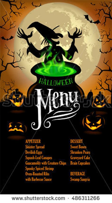 halloween witch party vector stock photos royalty free